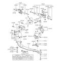 Hyundai / KIA Genuine Bracket Roll Stop Front Mtm Accent - Part No ( 21682-26001 )