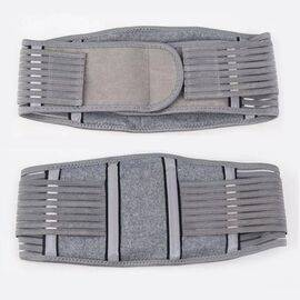 Adjustable Elastic Waist Support Bamboo Charcoal Exercise Lumbar Back Strap