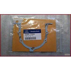 Hyundai / KIA  Genuine Engine Crankshaft Sealing Flange Gasket - Part No ( 21444-23000 )