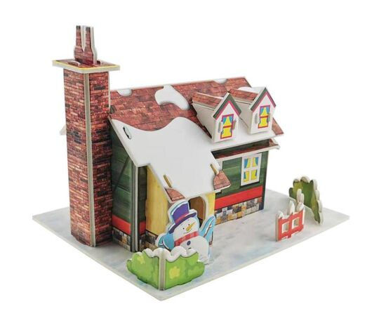 3d paper puzzle Christmas Gift
