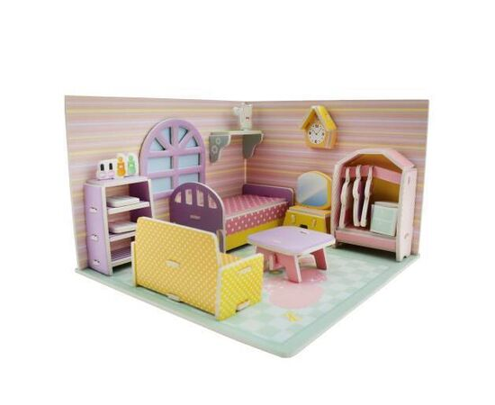 3D Paper Puzzle P Bedroom